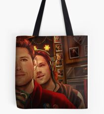 The Playlist Tote Bag