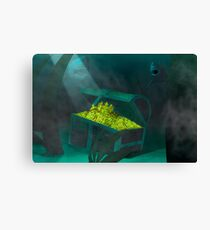 Keepers of the deep Canvas Print