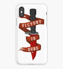 Victory Is Ours! iPhone Case/Skin