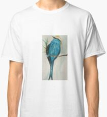 Perched Racket Tailed Roller Classic T-Shirt