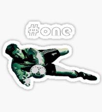 Packie Bonner #1 Sticker