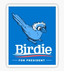Birdie Sanders Stickers Sticker