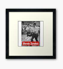 bernie sanders arrested 1963 Framed Print