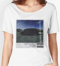 kendrick lamar cover Women's Relaxed Fit T-Shirt