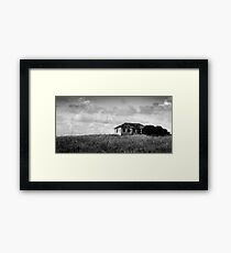 abandoned in grasses Framed Print