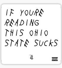 Ohio State Sucks Sticker