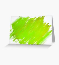 Abstract water color textured background Greeting Card