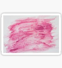 Dark red abstract water color textured background  Sticker