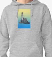 Fastnet Rock Lighthouse Pullover Hoodie