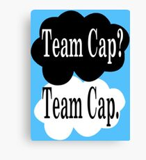 Team Cap? Team Cap Canvas Print
