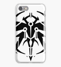 Rank-Up-Magic Raid force Black Edition iPhone Case/Skin