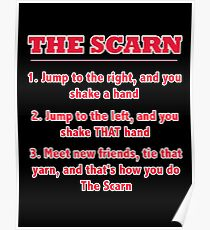 The Scarn! A How-To Guide Poster