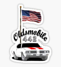 OLDSMOBILE 442 Sticker