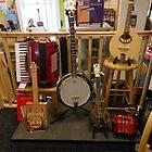 Blues Box Guitar and Banjos by BlueMoonRose