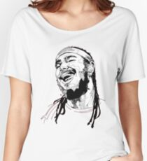 Post Malone Drawing Women's Relaxed Fit T-Shirt