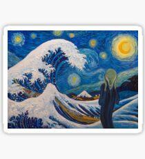 Tribute to Van Gogh Sticker