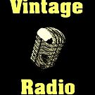 Vintage Radio by Nathan Little