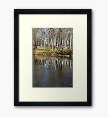 Reflections in Beargrass Creek Framed Print