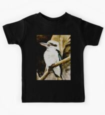 Kookaburra Sits in the Old Gum Tree Kids Tee