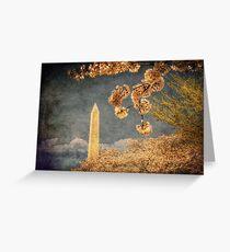 The Washington Monument Greeting Card