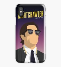 Nightcrawler film poster iPhone Case/Skin
