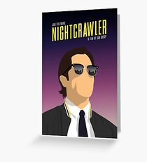 Nightcrawler film poster Greeting Card