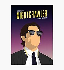 Nightcrawler film poster Photographic Print