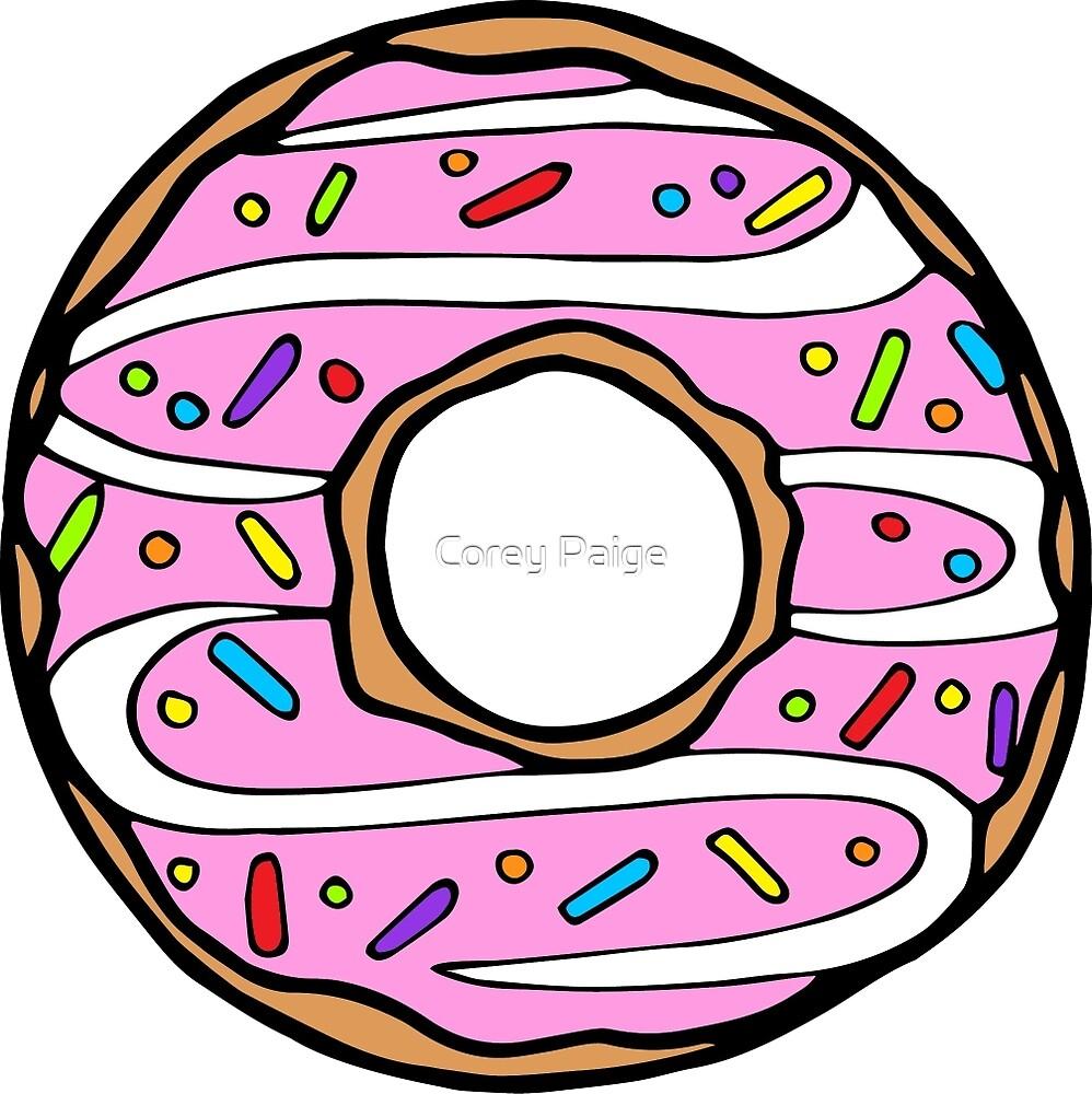 Erdbeer Donut von Corey Paige Designs