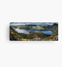Lake Dove Panorama Canvas Print