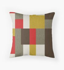 MCM Bitossi Puzzle Throw Pillow