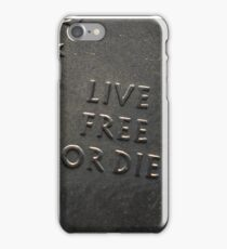 Live Free or Die 2nd Amendment Don't Tread on Me Stickers, Shirt, Cases, Shirts iPhone Case/Skin