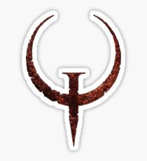 Quake Logo Sticker