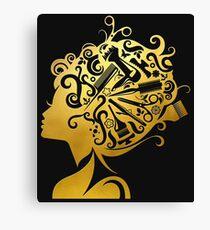 Cosmopolitan Queen Canvas Print