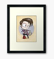 Eleventh Doctor - Hashtag Cool Framed Print