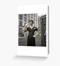 Anna Karenina in Colour Greeting Card