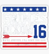Grimes 2016 Sticker