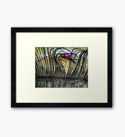 Petals on the Tongue Framed Print