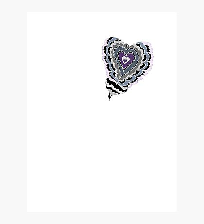 Tiled Heart Photographic Print