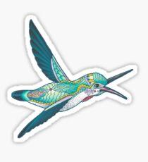 Mandala Hummingbird Sticker