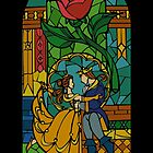 Beauty and The Beast - Stained Glass by hogies
