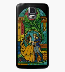 Beauty and The Beast - Stained Glass Case/Skin for Samsung Galaxy
