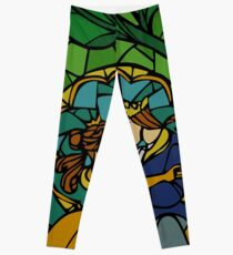 Beauty and The Beast - Stained Glass Leggings