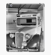 Wartime Ambulance iPad Case/Skin