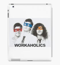 Workaholics tmnt iPad Case/Skin