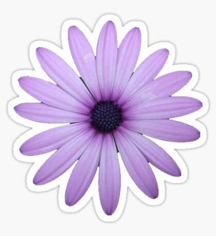 Mauve Flower Tee Sticker