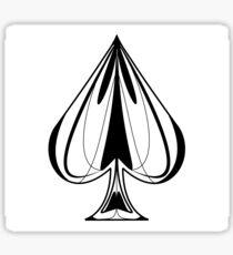 Spade Sticker