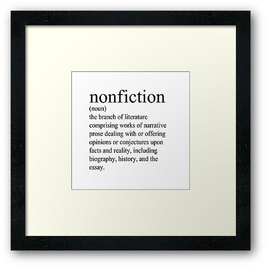 Non-Fiction Definition\