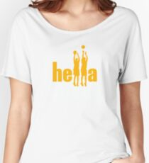 Hella Threes Women's Relaxed Fit T-Shirt