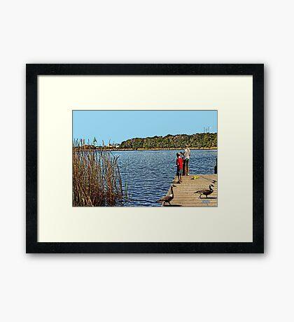 Martin Lake Framed Print