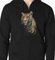 Tiger Zipped Hoodie